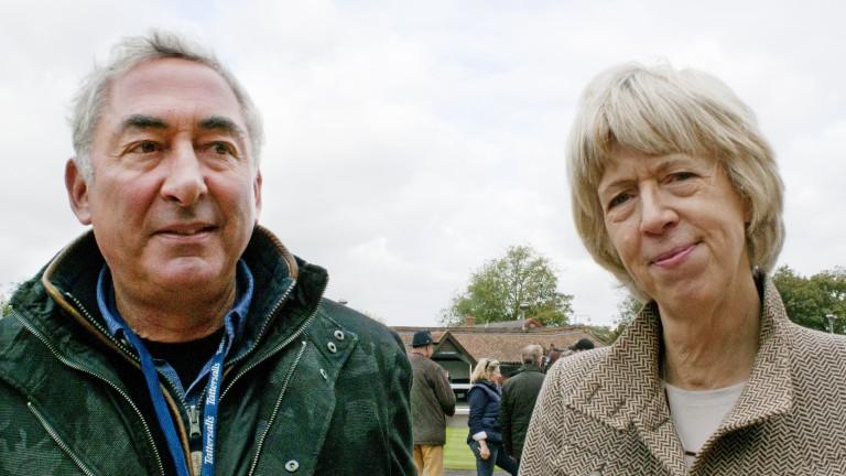 Mark Weinfeld and Lavinia Lynam at Tattersalls
