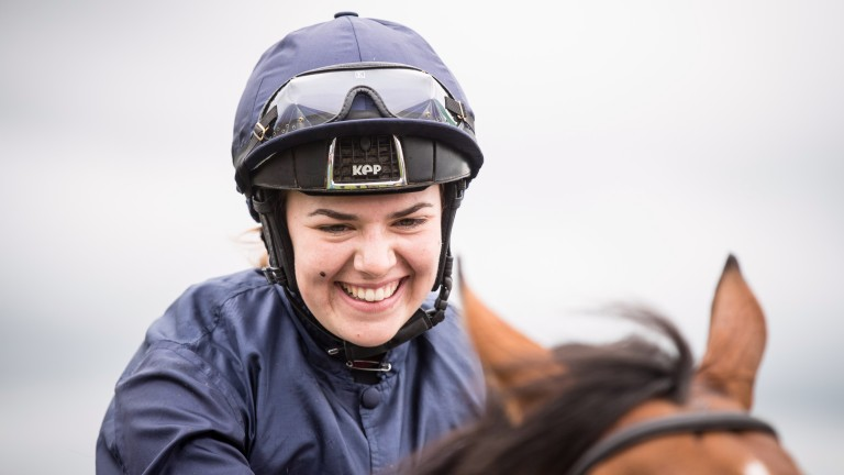 Ana O'Brien: has not ridden since being injured in Killarney fall