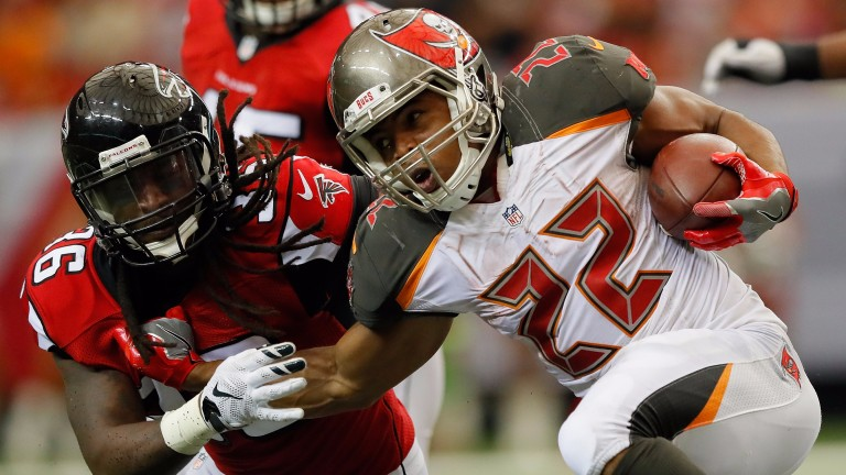 The return of Doug Martin (right) is a boost for Tampa Bay
