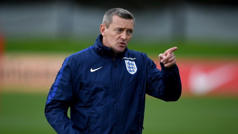 England U21 manager Aidy Boothroyd