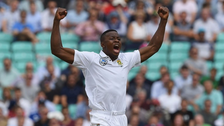 South Africa fast bowler Kagiso Rabada took 10-63 against Bangladesh in October
