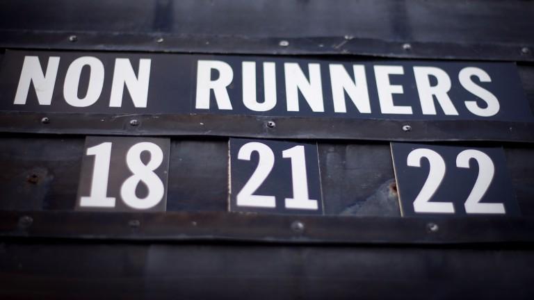 Non-runners board Galway Photo: Patrick McCann 09.09.2014