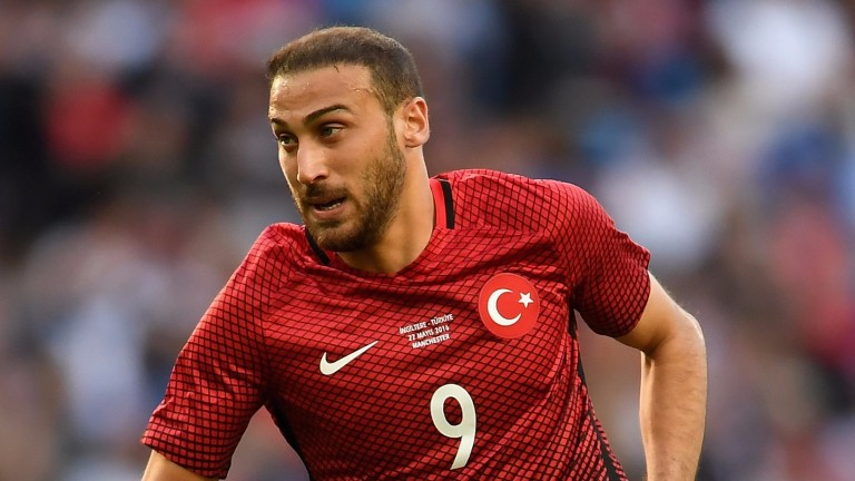 Besiktas striker Cenk Tosun scored Turkey's winner against Croatia