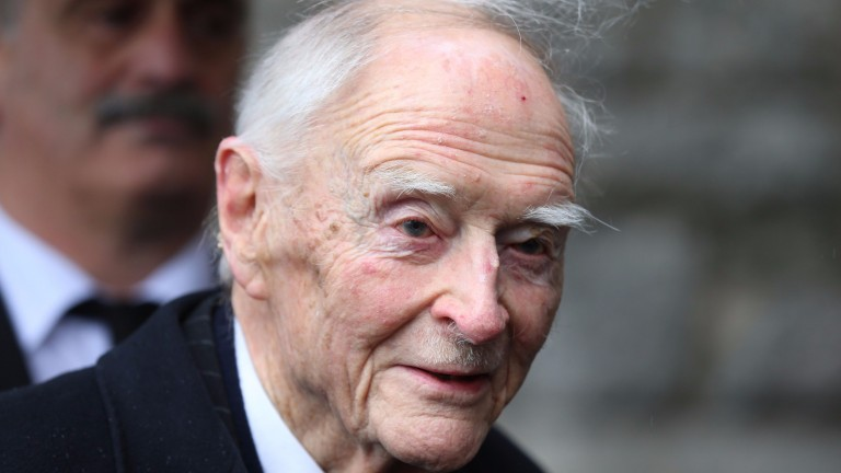 Liam Cosgrave: he was an honorary member of the Turf Club