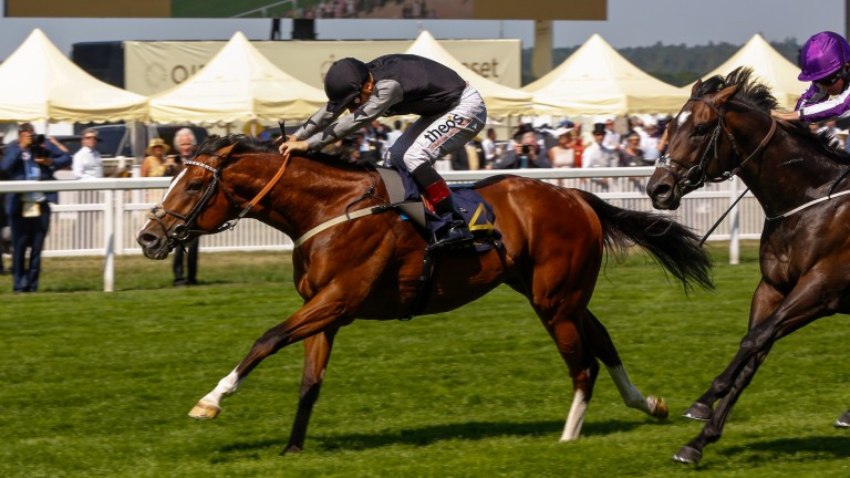 Rajasinghe and Stevie Donohoe land the Coventry Stakes at Royal Ascot