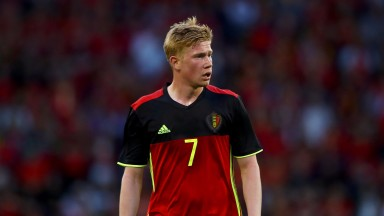 Belgium's Kevin De Bruyne