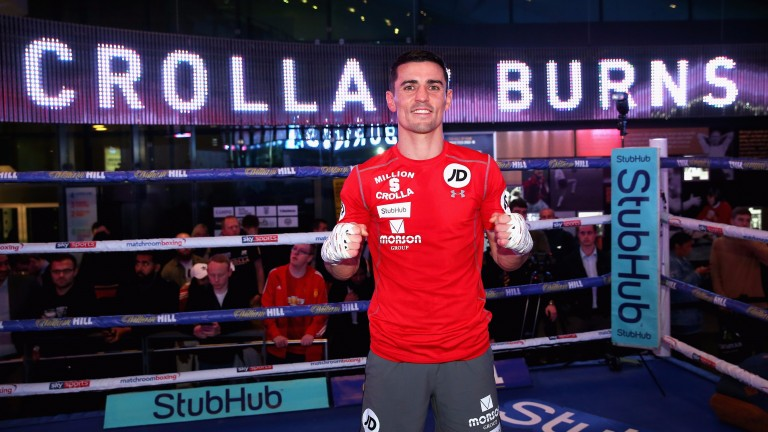 Anthony Crolla poses ahead of his fight with Ricky Burns