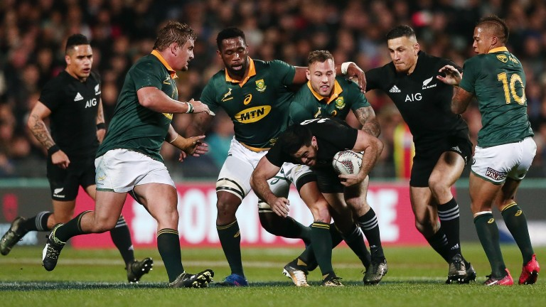 South Africa shipped 57 points to the All Blacks the last time they met