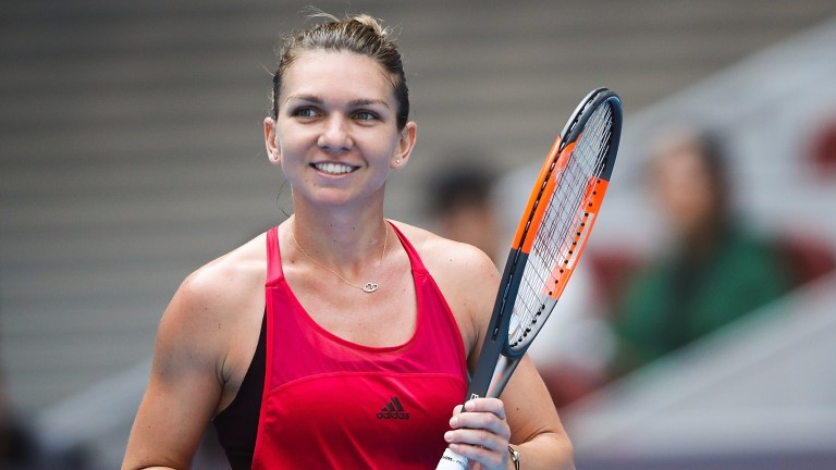 Simona Halep has stepped it up in Beijing