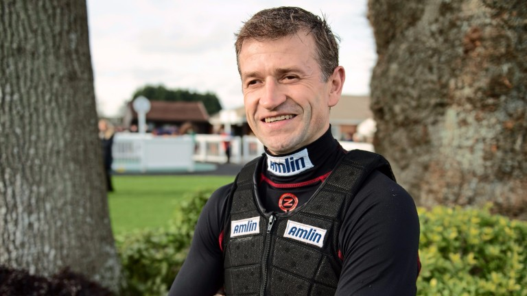 Andrew Thornton: recently joined the list of jockeys to rides 1,000 winners