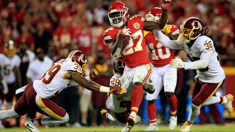 Kareem Hunt has been in great form for Kansas City