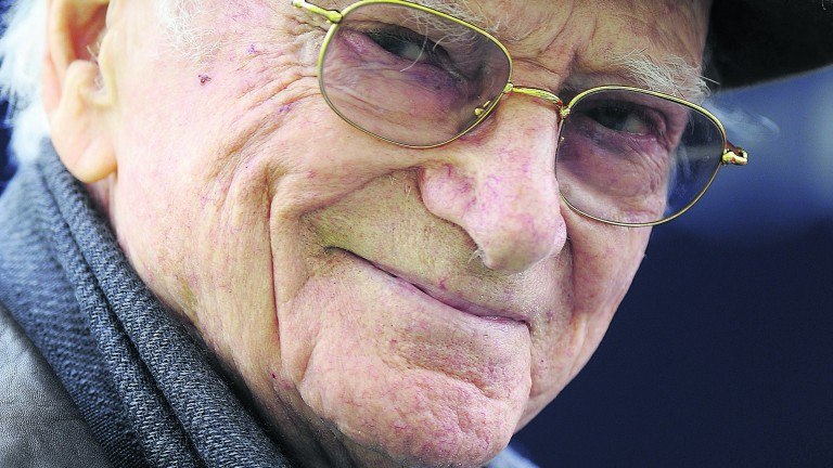 Sir Peter O'Sullevan: just one racing figure in a dazzling array whose talents were employed by De Wesselow