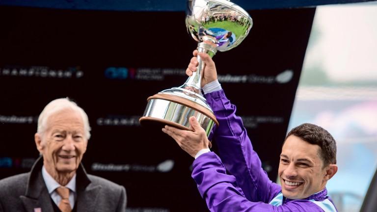 Silvestre de Sousa: gets to enjoy winning feeling again