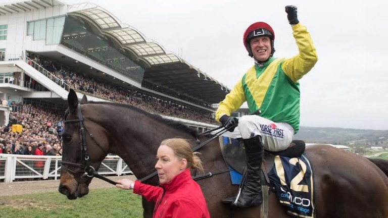 Rpbbie Power: the Gold Cup-winning jockey is 37