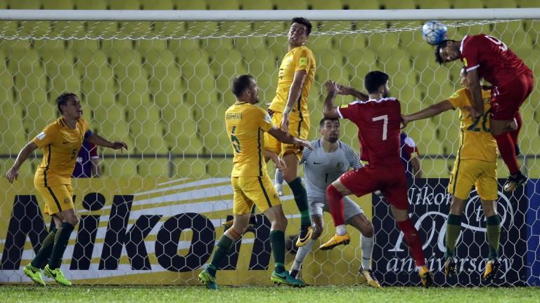 Australia and Syria drew 1-1 on Thursday