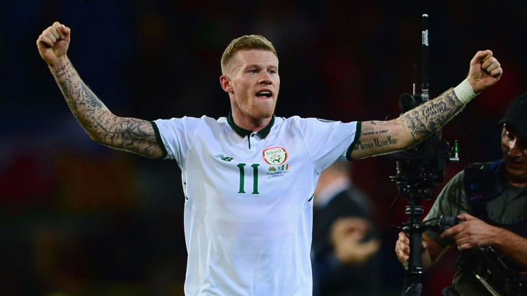 James McClean sealed a playoff spot for Ireland