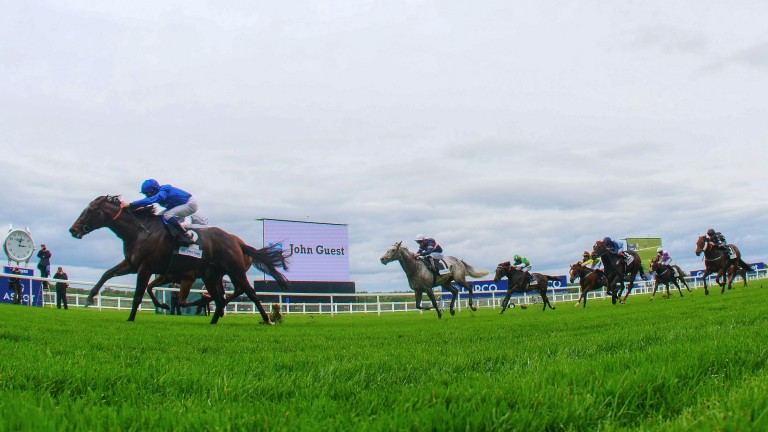 Blue Point and William Buick win the Group 3 Bengough Stakes at Ascot in October