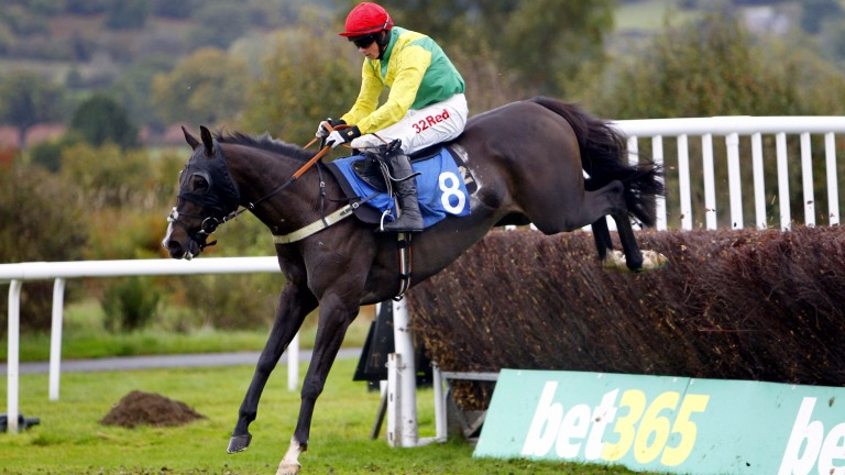 Bryan Cooper on his first ride for owner Alan Potts at Ludlow on Exxaro