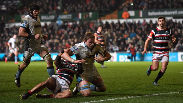 Glasgow beat Leicester and Racing 92 home and away last season