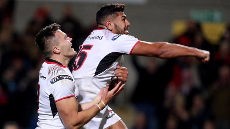 Jacob Stockdale and Charles Piutau are a formidable strike force for Ulster