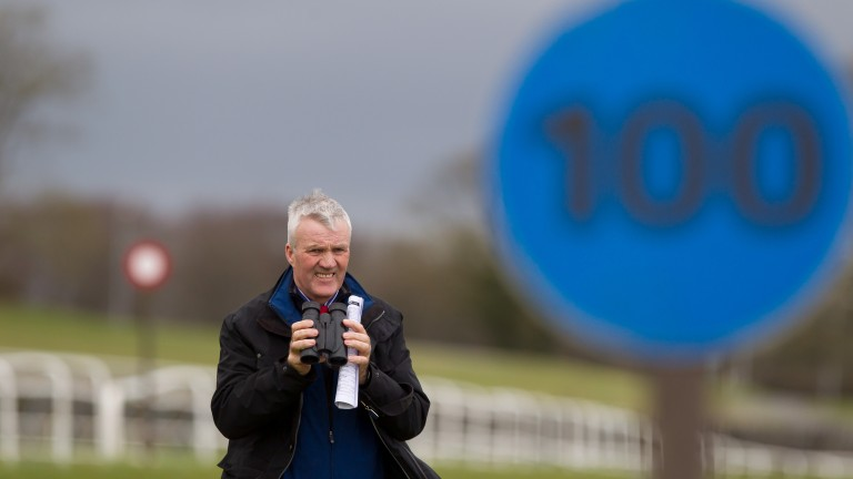 Limerick clerk of the course Val O'Connell