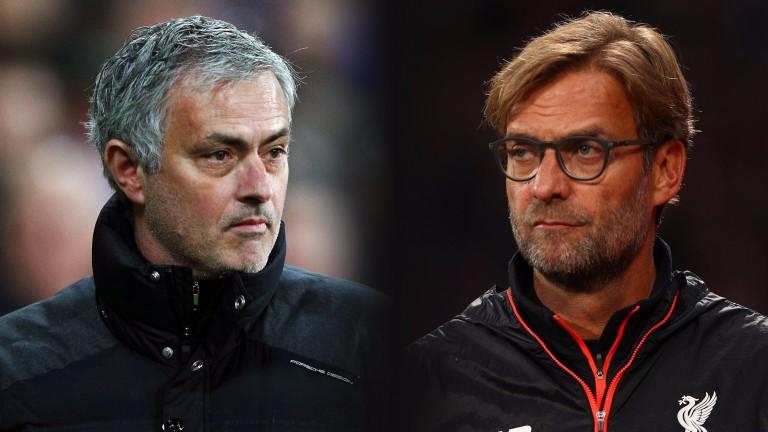 Man Utd's Jose Mourinho faces a tactical battle against Liverpool's Jurgen Klopp