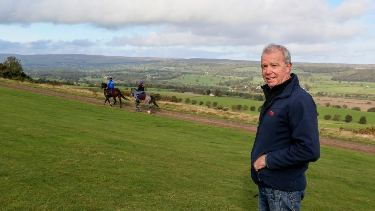 Karl Burke: enjoying a tremendous year with stars such as Quiet Reflection, Laurens, Unfortunately and Havana Grey