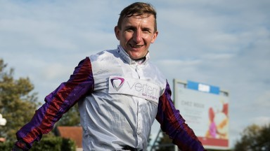 A dream achieved: a beaming PJ McDonald after he rode his first Group 1 winner in the Fillies' Mile