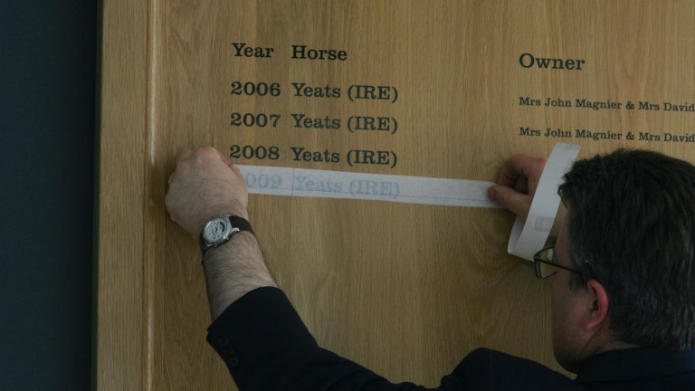 Four Gold Cup wins for Yeats a fine O'Brien achievement