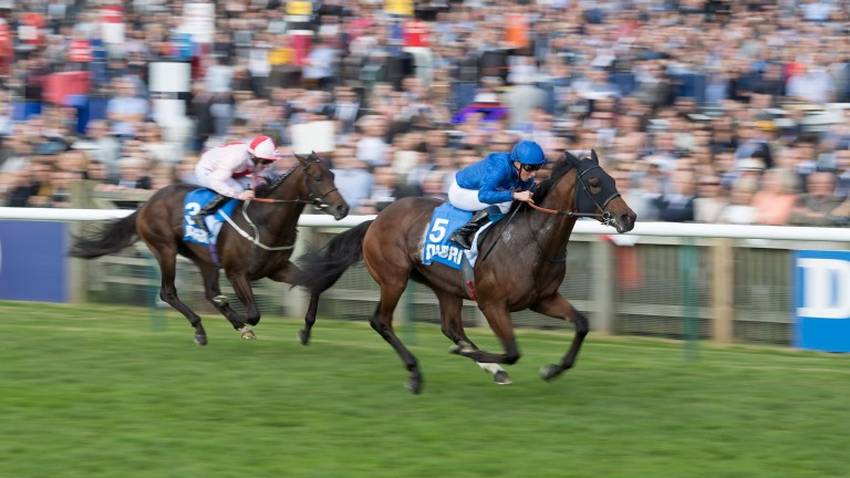 Ghaiyyath: won the Group 3 Autumn Stakes at Newmarket when he was last seen