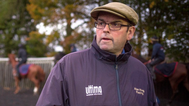 Alan King runs a promising daughter of Midnight Legend on Thursday