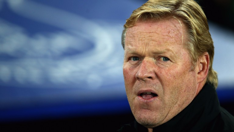 Everton boss Ronald Koeman