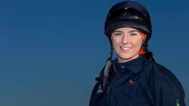 Elisha Whittington: winner of the newcomer of the year award