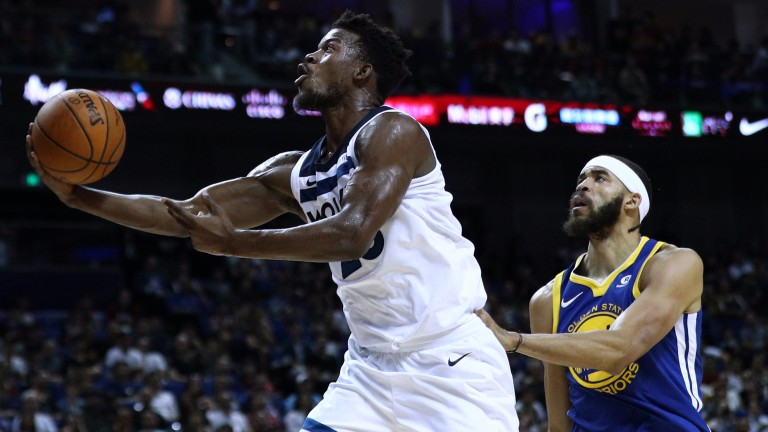 Jimmy Butler (left) could prove a superb signing for Minnesota