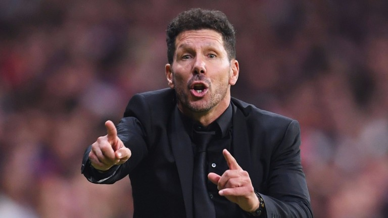 Diego Simeone is seeking an improved performance from his Atletico side