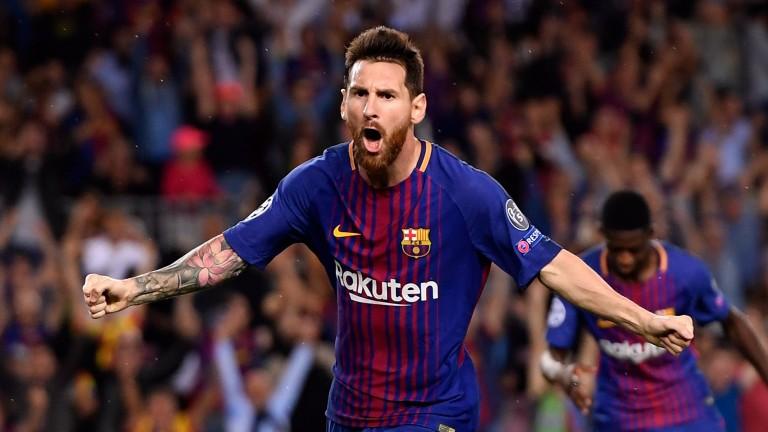 Barca superstar Lionel Messi