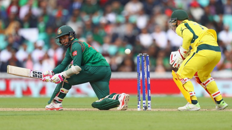 Mushfiqur Rahim (left) has been in excellent touch this year