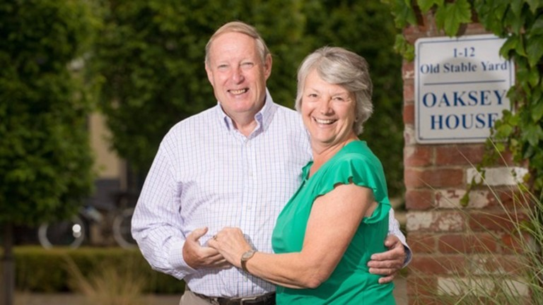 "John and Jackie Porter: playing a bit more ""bad golf"" is on the agenda"