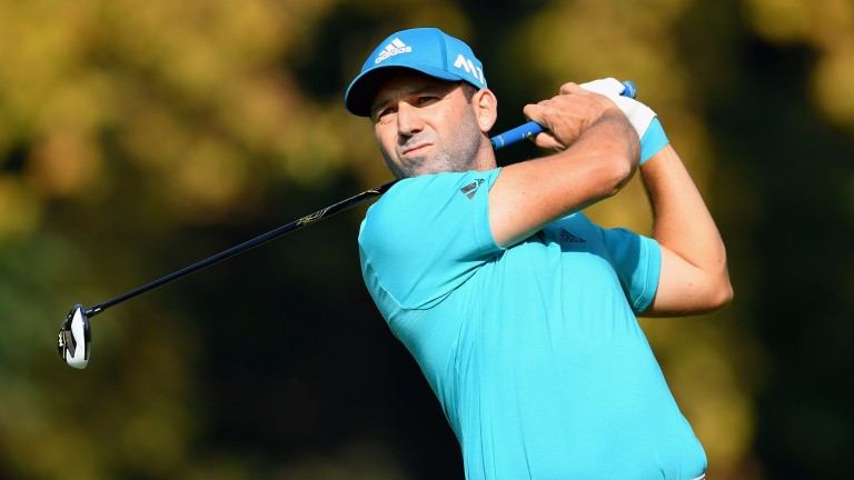 Sergio Garcia is combining playing duties with that of tournament host