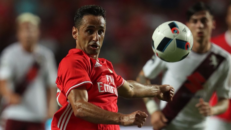 United will need to keep a close eye on Benfica forward Jonas
