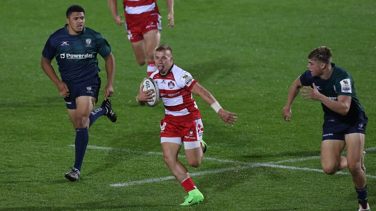 Gloucester scrum-half Ben Vellacott has been tipped for a big future