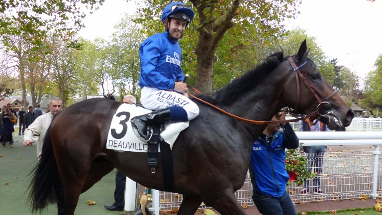 Wootton after winning the Prix Isonomy