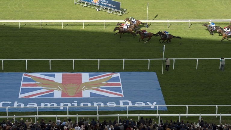 Ascot: Champions Day card starts at 1.25