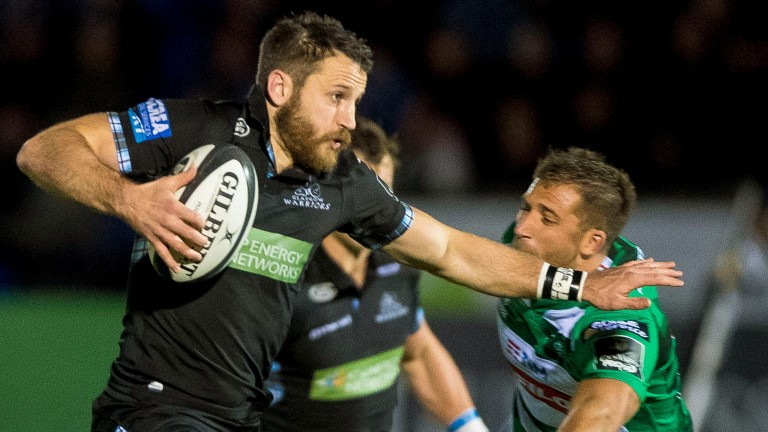 Glasgow's Tommy Seymour scored four tries against Leinster last season