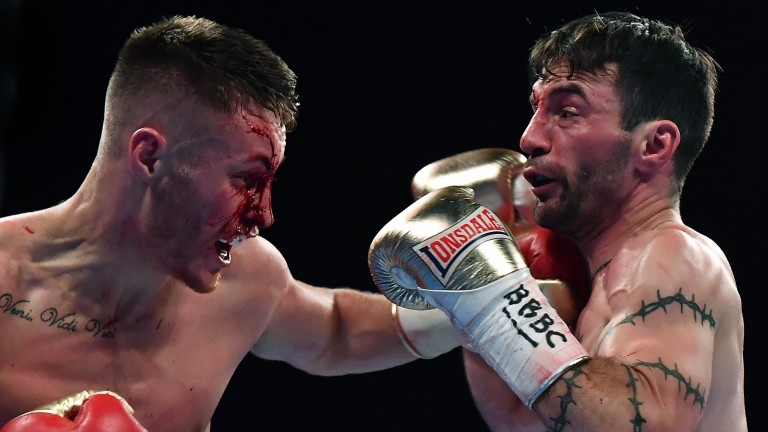 Ryan Burnett sends shivers down Lee Haskins' spine