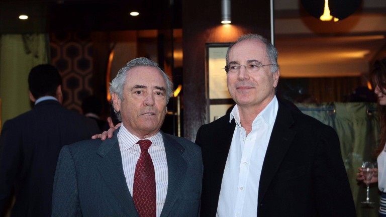 Antonio Caro (left) with Almanzor's co-owner Gerard Augustin-Normand