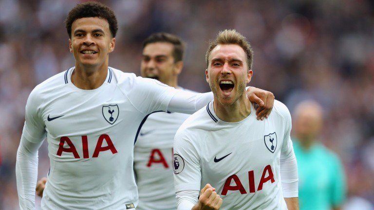 Dele Alli and Christian Eriksen (right)