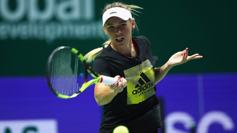 It could all come right for Caroline Wozniacki in Singapore