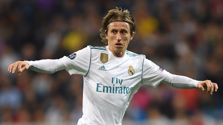 Luka Modric of Real Madrid in action