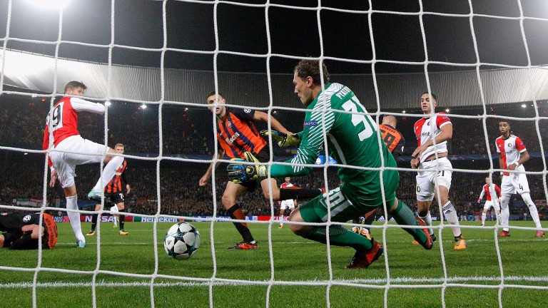 Feyenoord suffered defeat to Shakhtar in midweek